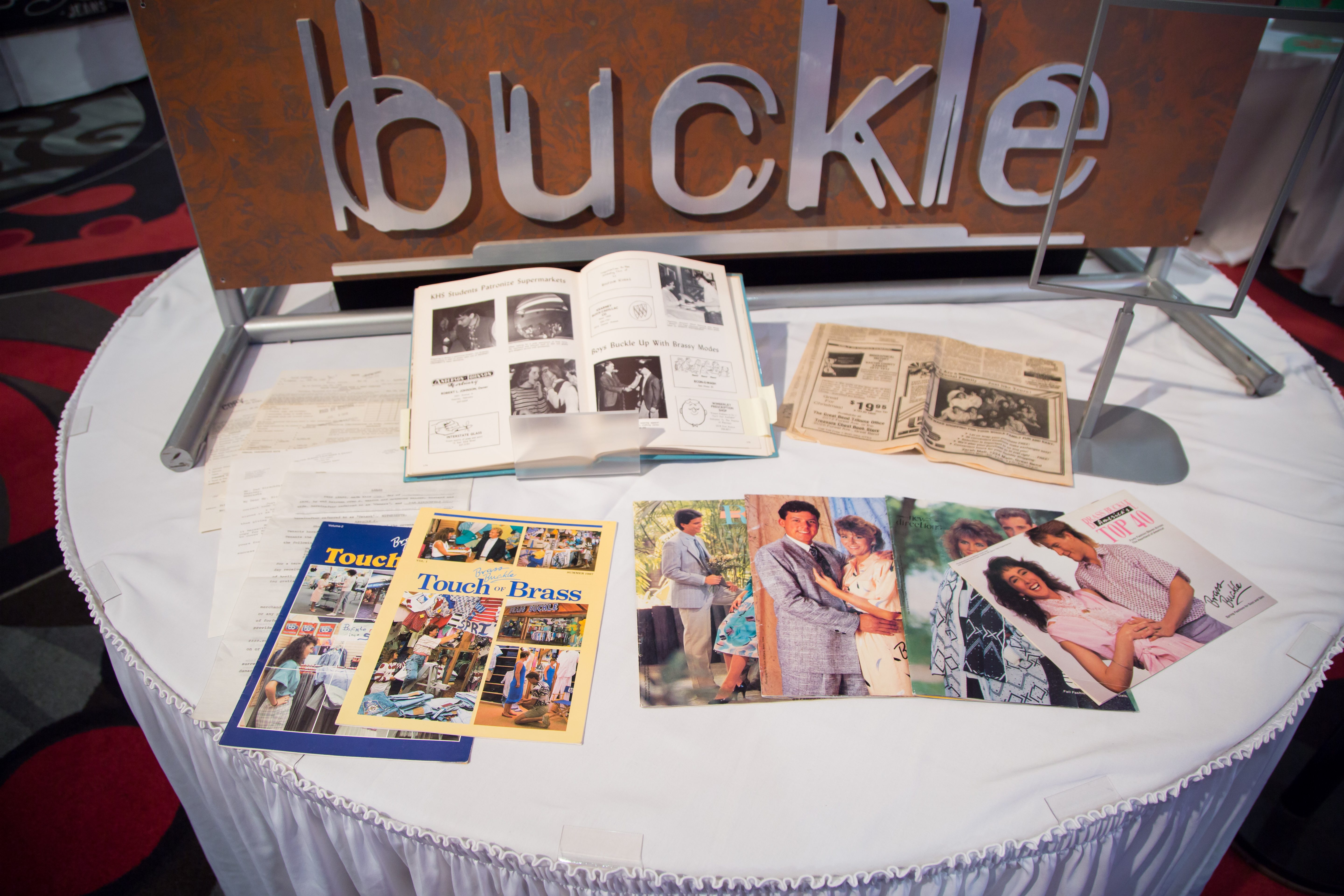 Buckle's 50th Anniversary Museum | Magazine articles from the past.
