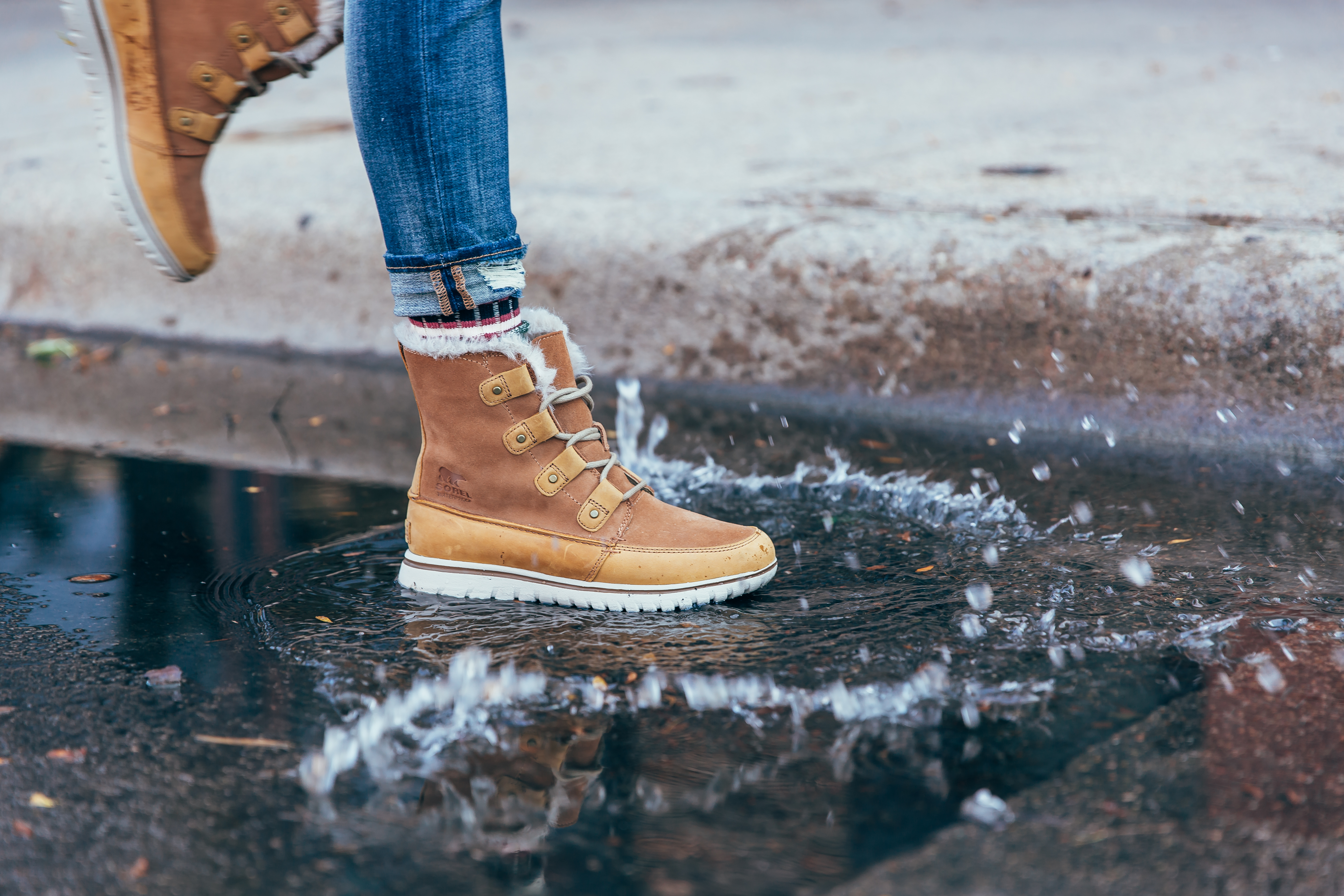 Stance Socks with Sorel Winter Boots | How To Style Socks With Shoes