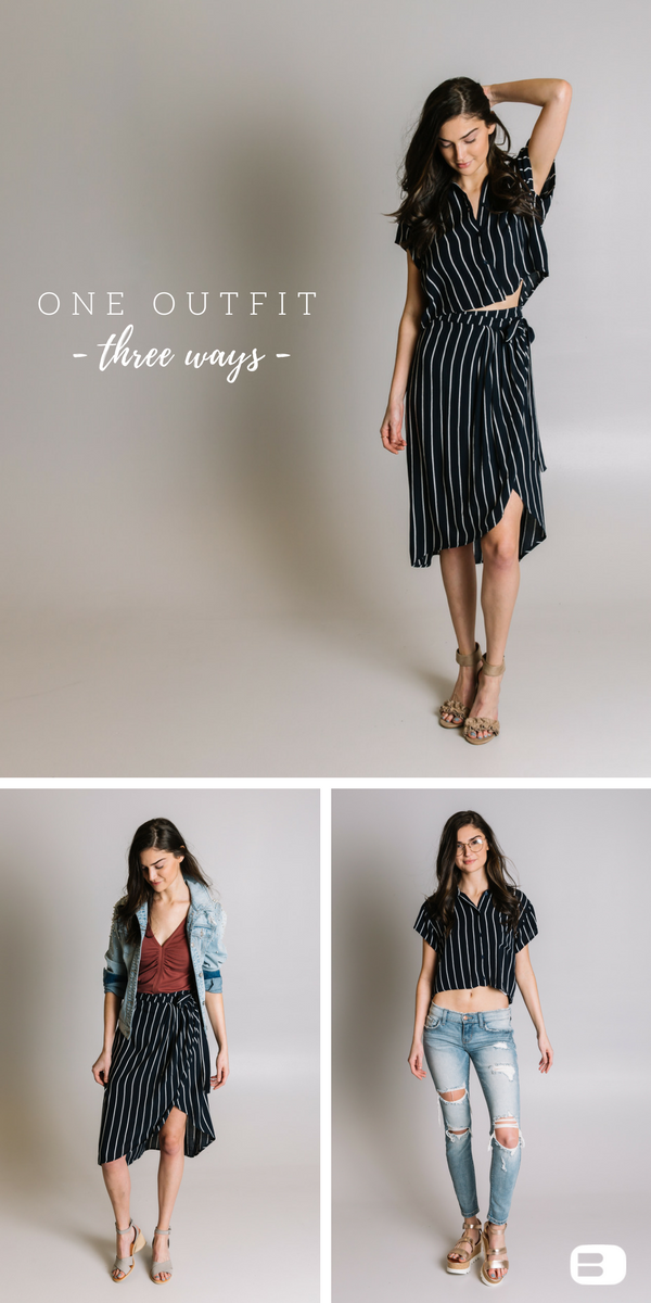 One Outfit, Three Ways