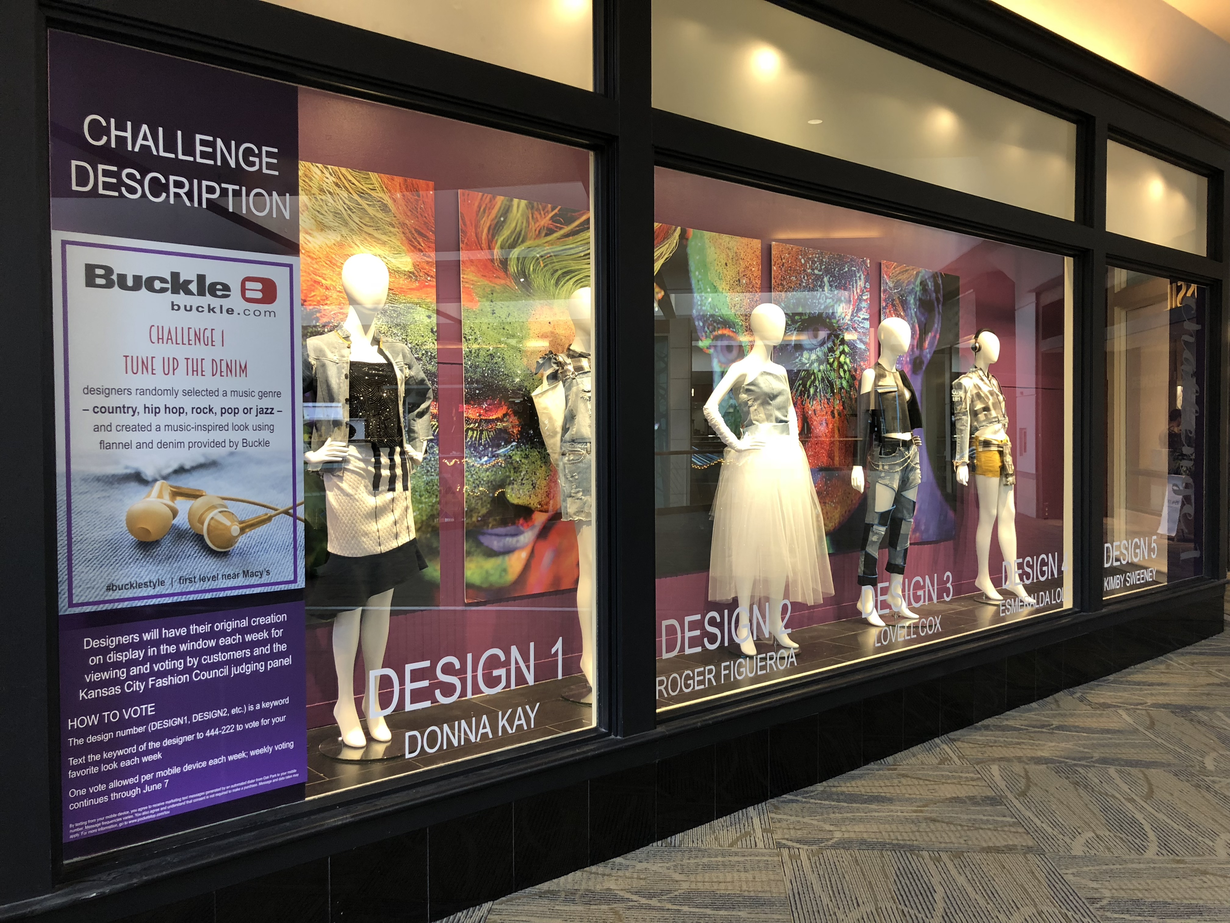 Oak Park Mall's Designer Challenge