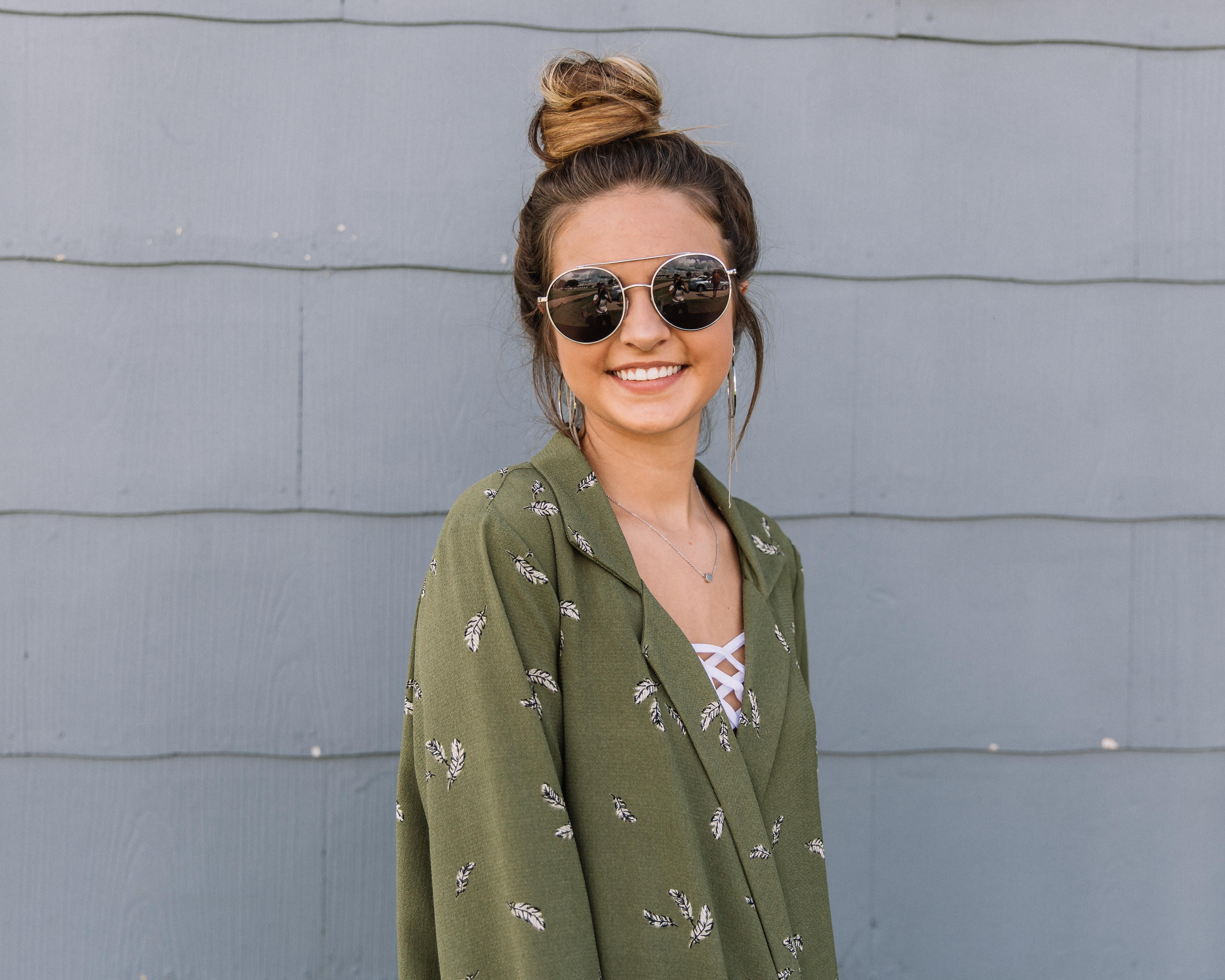 Now trending: round sunglasses