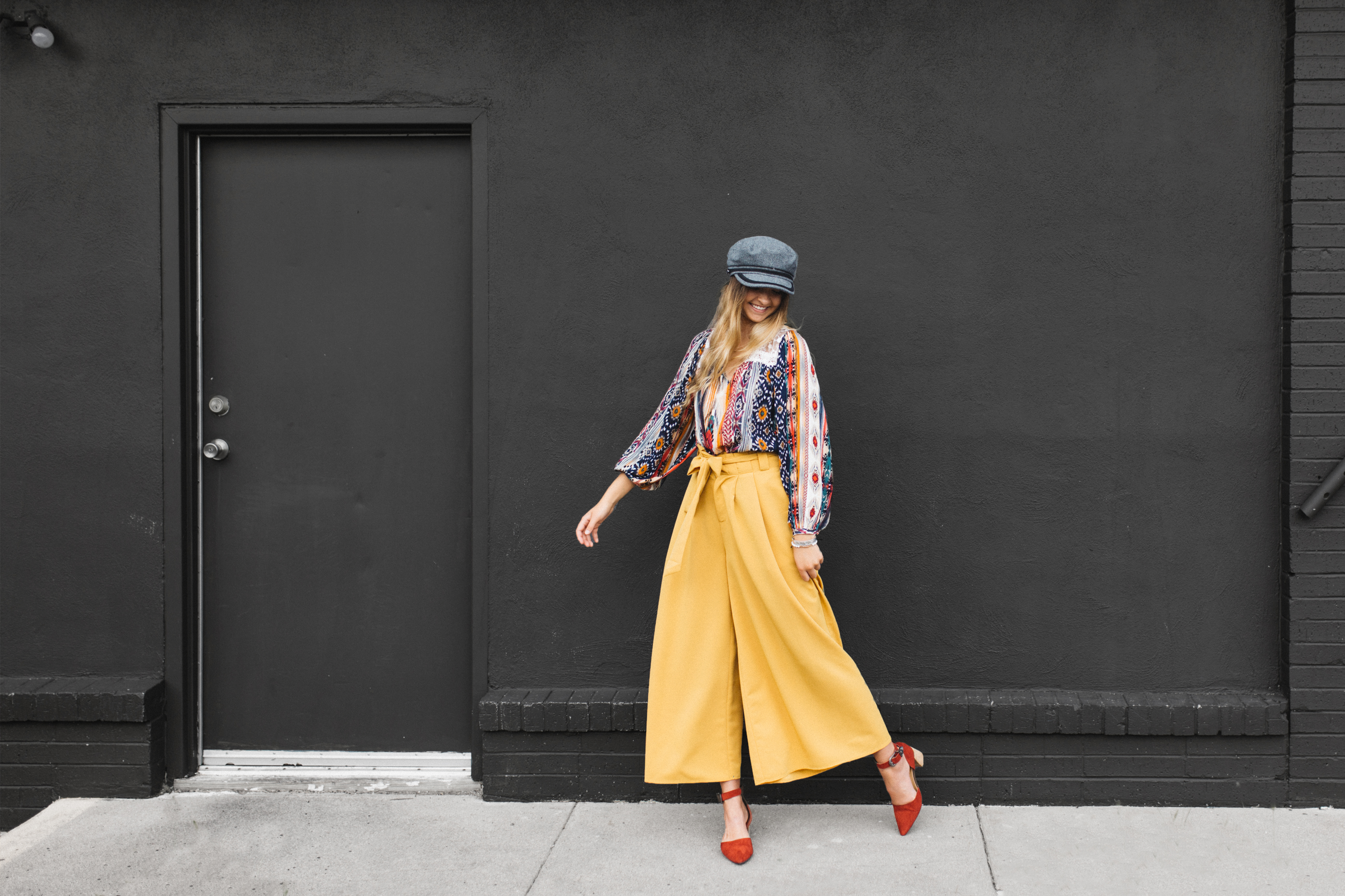 How to wear fashion pants in the fall