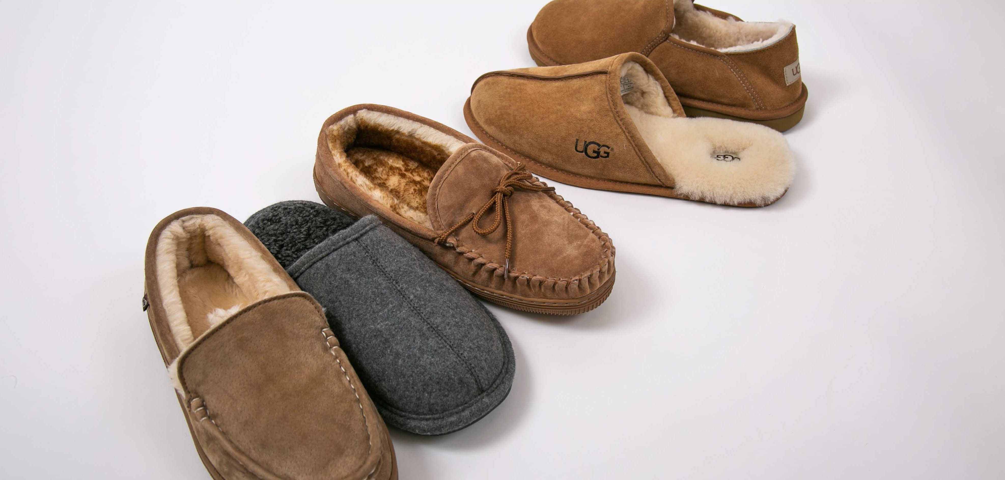 Men's Ugg and Lamo Slippers