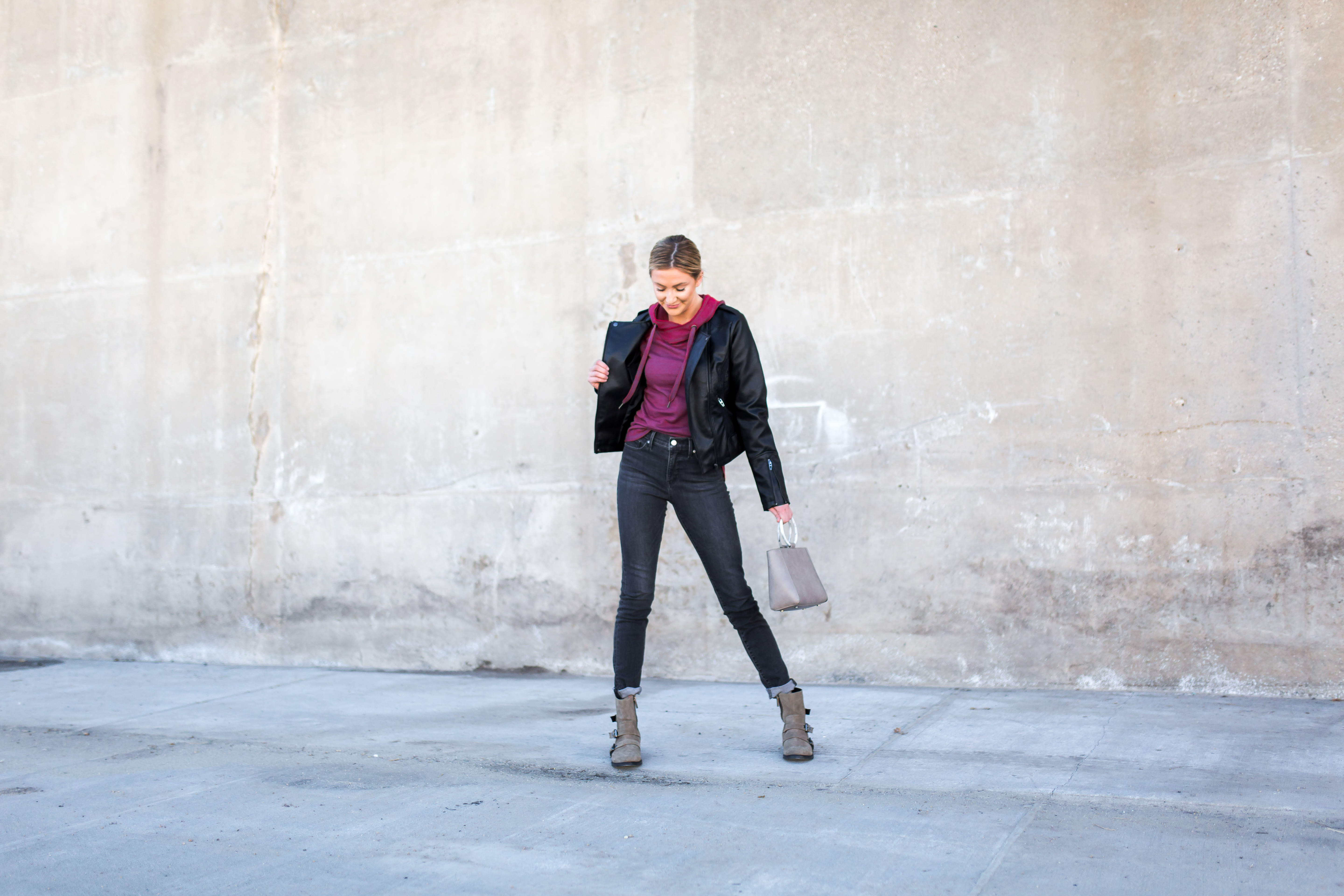 Levi's styled from day to night, featuring the Levi's 311 Shaping Skinny.
