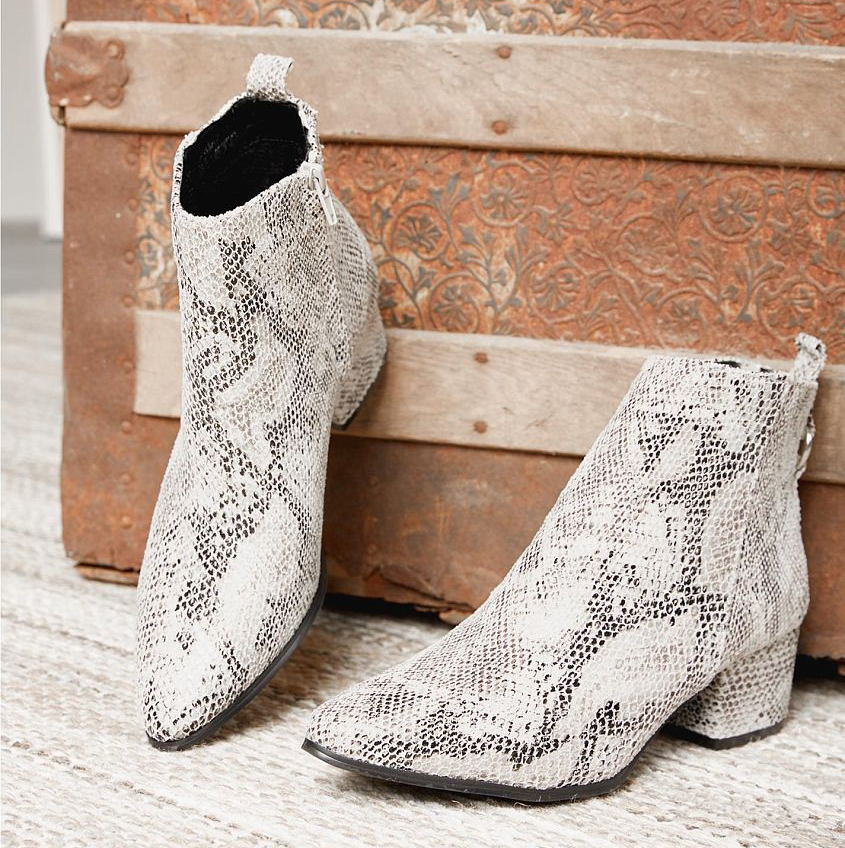 Snakeskin Boots From Buckle