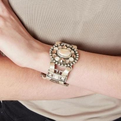 Women's Leatherock Glitz Stone Bracelet