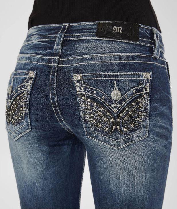 Women's Miss Me Bootcut Jeans
