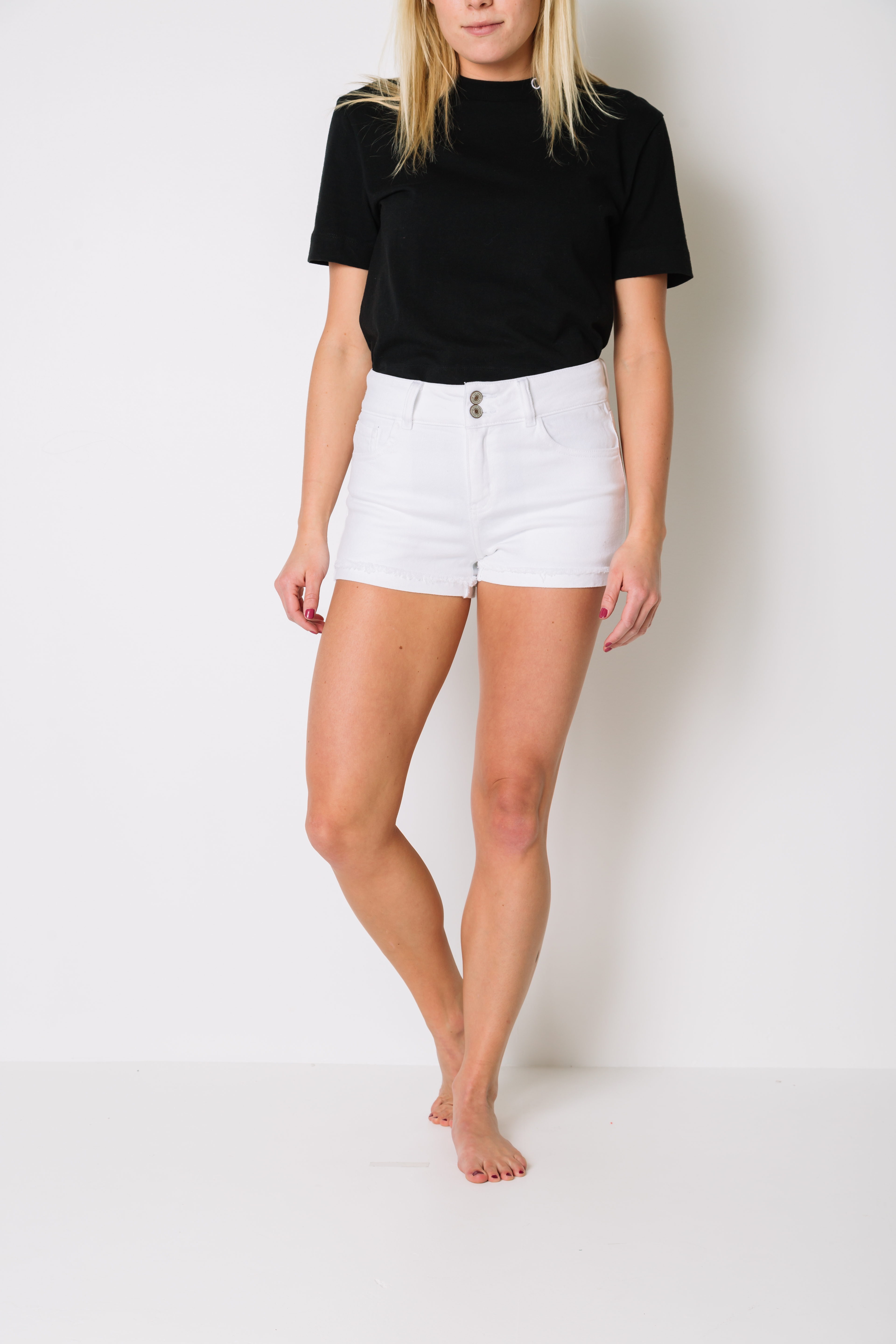 Women's Midi Jean Short at Buckle