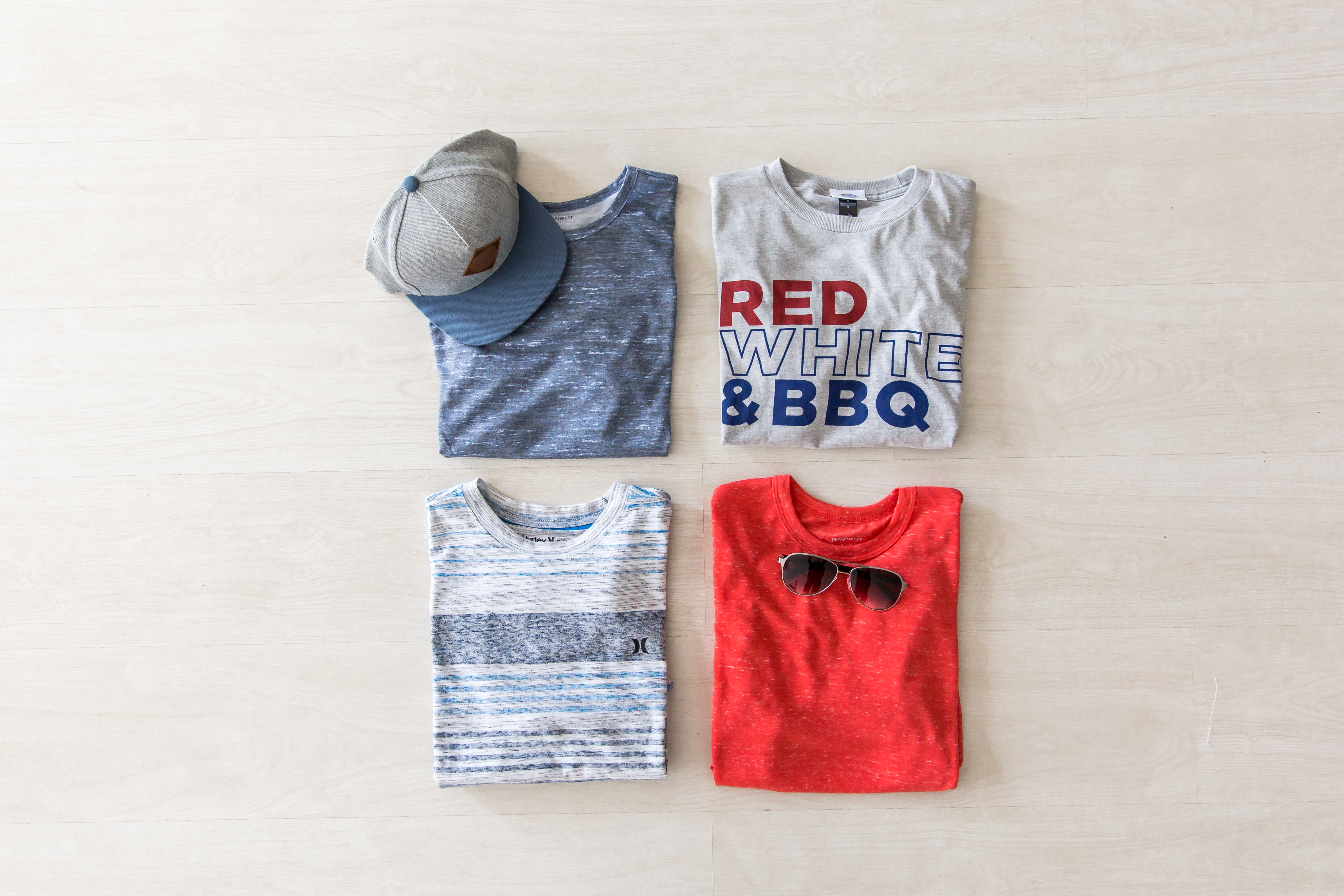 The perfect tees for your Memorial Day plans.