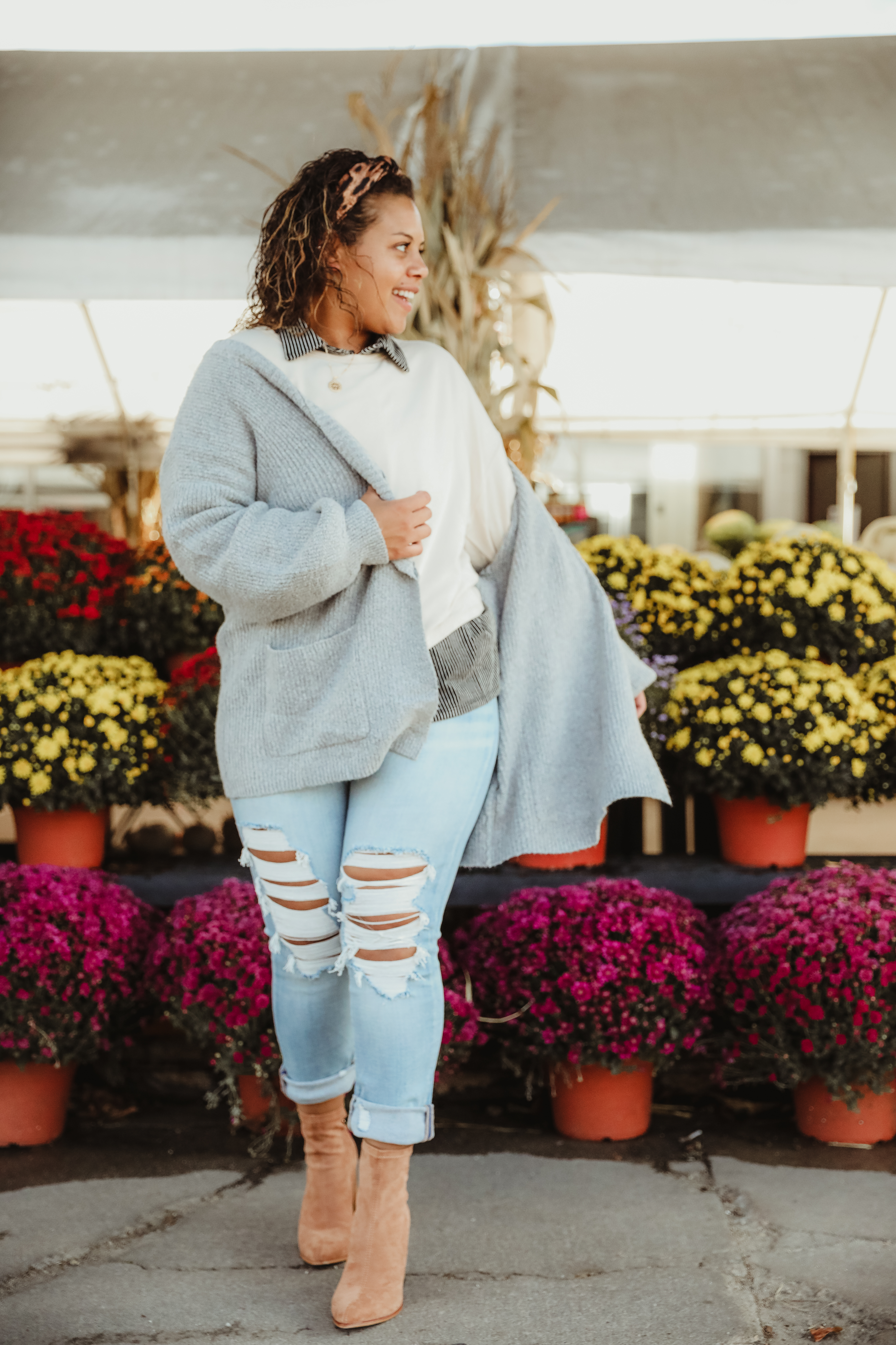 love to layer? us too! play with adding extra layers on top and keeping it sleek and simple on bottom for major fall feels.