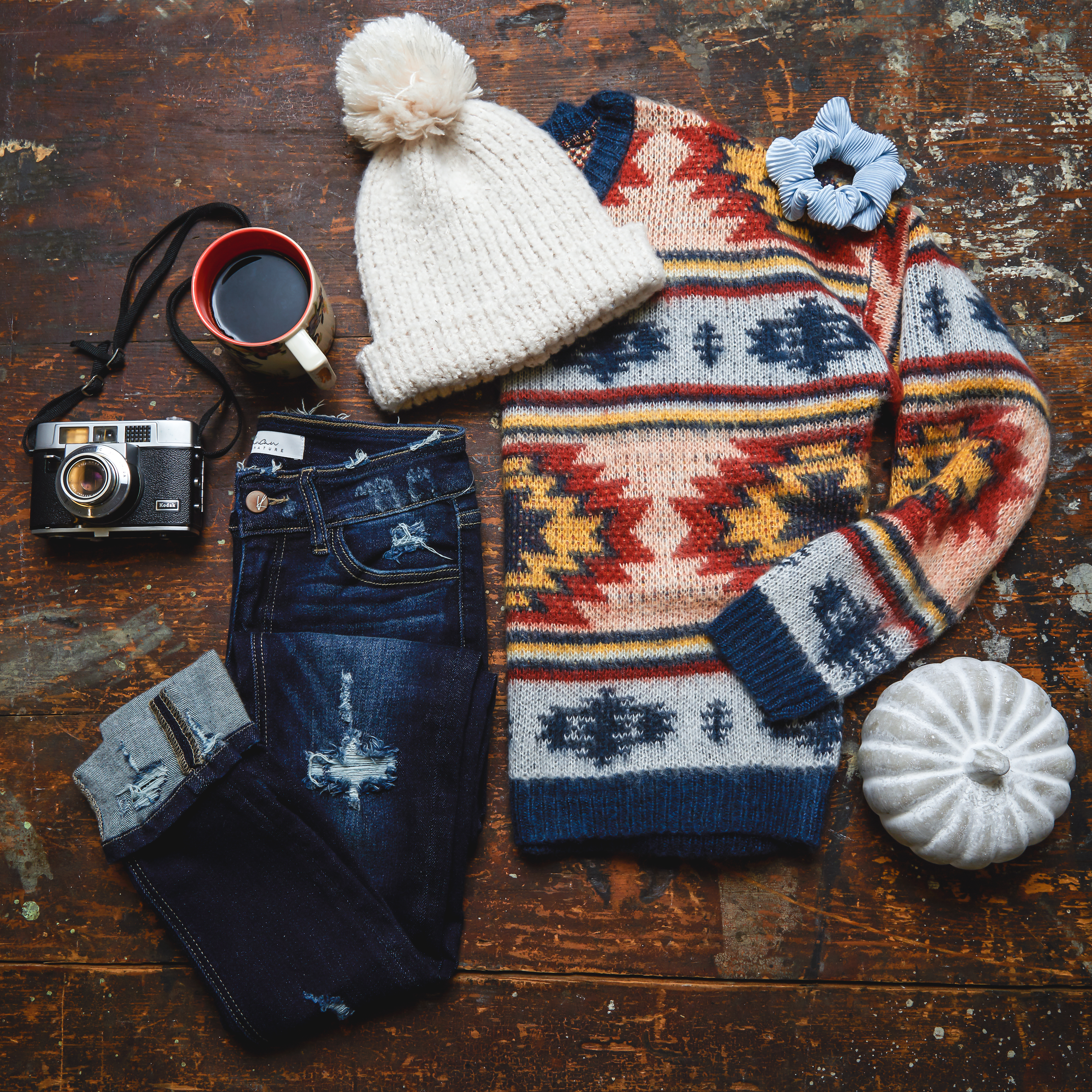 as the chill settles in, we are layering up - and this sweater will definitely come in handy