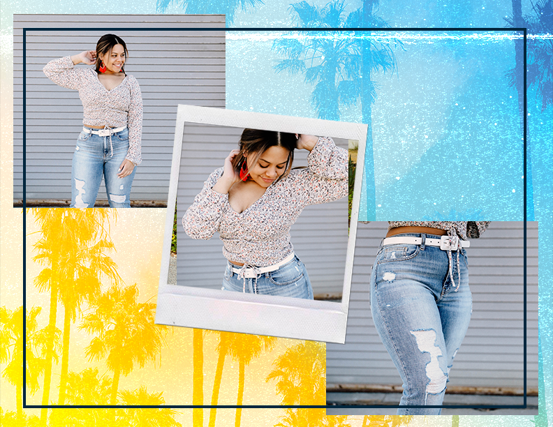 How to Style a Mom Jean