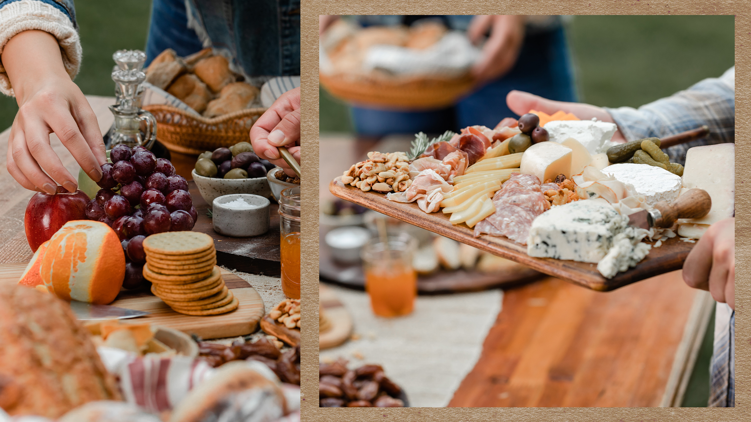 a how to for holiday charcuterie boards